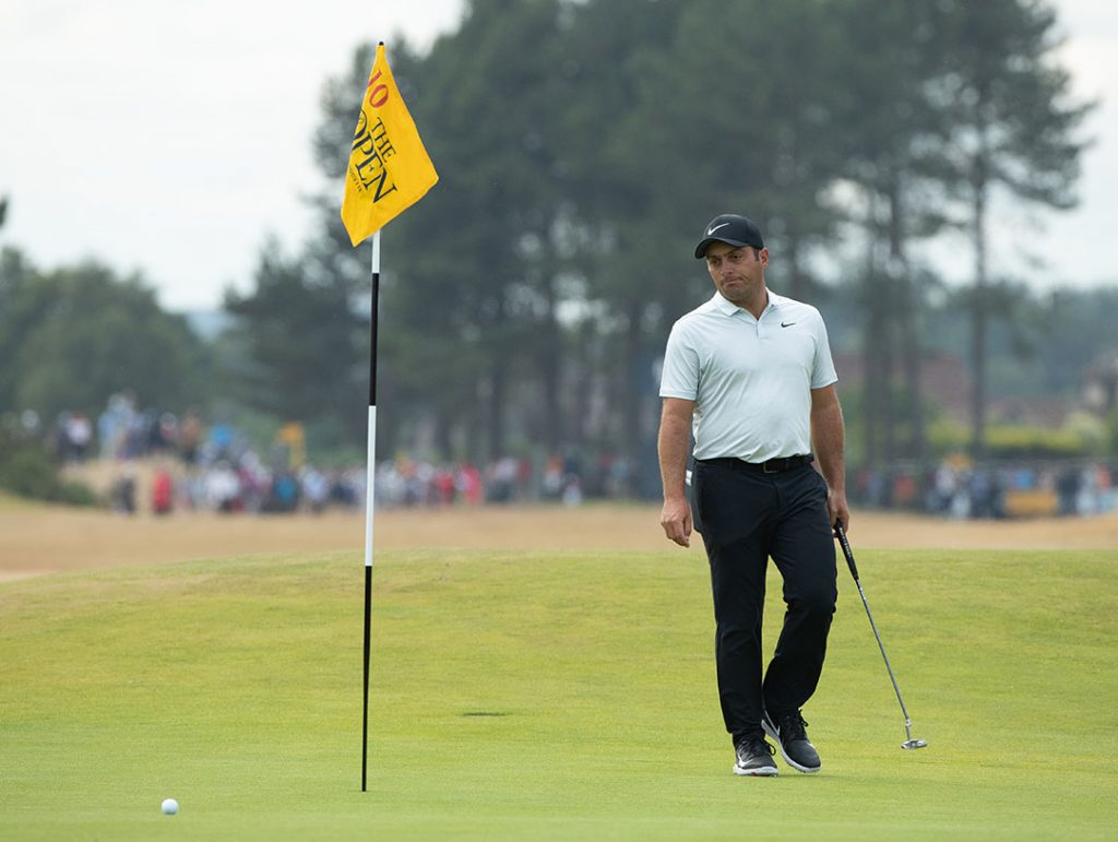 Francesco Molinari won the 2018 Open Championship with a two-under 69 in the final round.