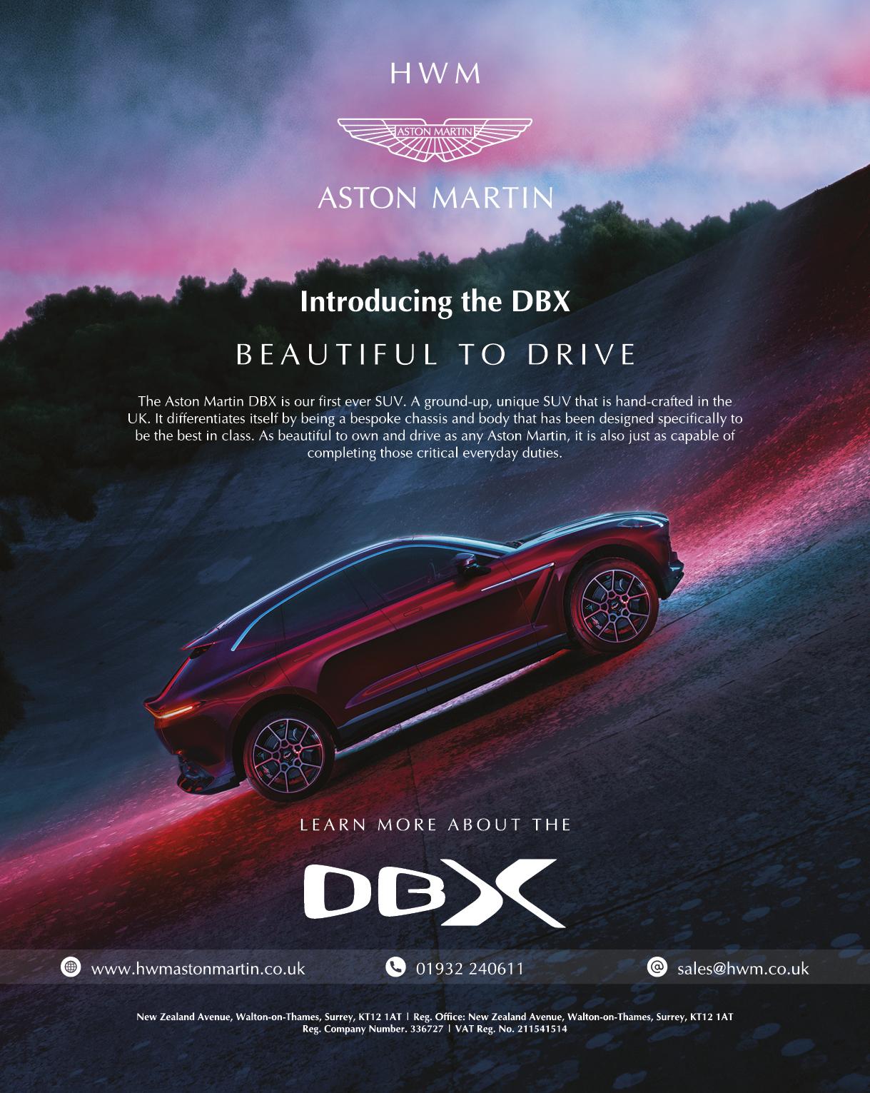HWM Aston Martin Ad