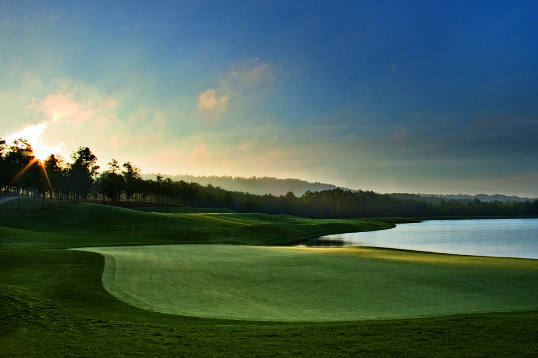 The Robert Trent Jones trail in Alabama